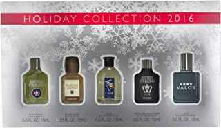 DANA MEN'S HOLIDAY COLLECTION Fragrance, Sampler Holiday Collection, 5 Piece