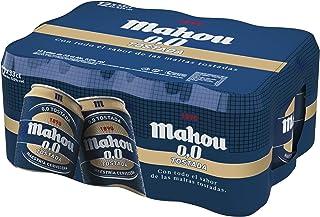 comprar comparacion Mahou - Tostada 0.0% - Paquete de 12 x 330 ml - Total: 3.96 L