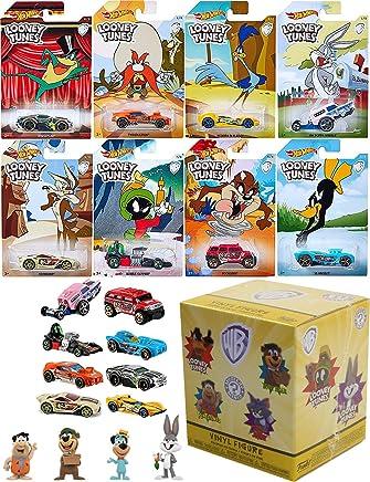 Hot Wheels Warner Looney Tunes Exclusive Cartoon Cars Bugs Bunny / Daffy Duck / Michigan J. Frog / Marvin Martian / Wile E. Coyote / Road Runner / Tazmanian Devil / Yosemite Sam + Saturday Morning