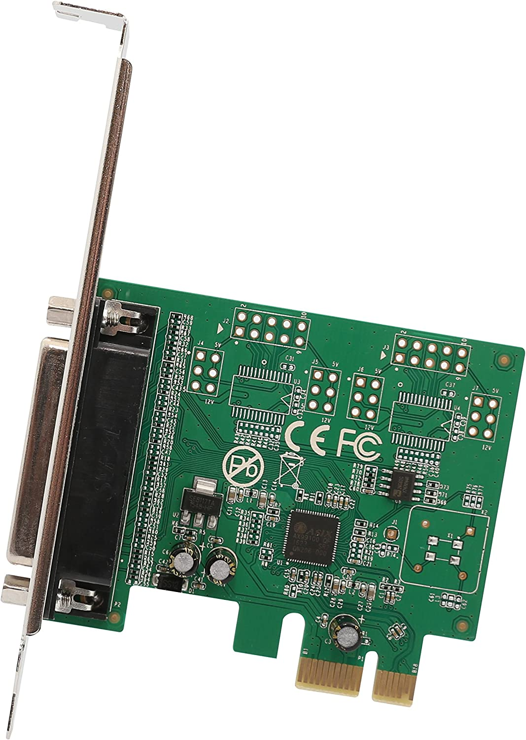 Syba 1 Port Parallel DB25 LPT Low Max 80% OFF wholesale Bracket Printer PCIe with x1
