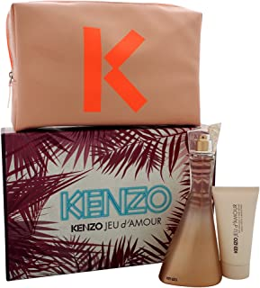 Kenzo Jeu D'amour 3 Piece Gift Set for Women