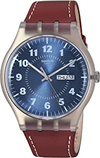 Swatch Originals Quartz Movement Blue Dial Men's Watch SUOK709