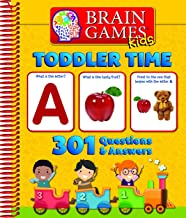 Brain Games Kids: Toddler Time - 301 Questions and Answers - PI Kids
