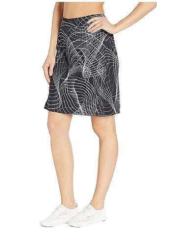 Skirt Sports Happy High Waist Skirt (Galactic Print) Women