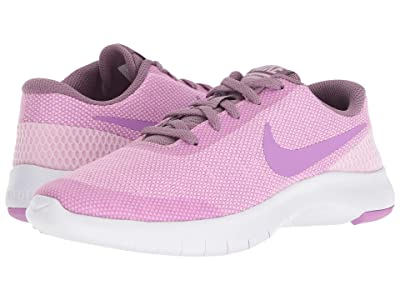 Nike Kids Flex Experience Run 7 (Big Kid) (Light Arctic Pink/Fuchsia Glow/Violet Dust) Girls Shoes