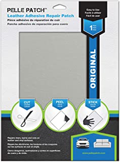Pelle Patch – Leather & Vinyl Adhesive Repair Patch – 25 Colors Available..