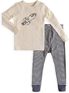 Skylar Luna Boys Long Sleeve Pajama Set - 100% Soft Organic Turkish Cotton- GOTS Certified