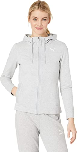 24ae168d2b7d PUMA. Modern Sports Hooded Jacket.  38.50MSRP   55.00. Light Grey Heather