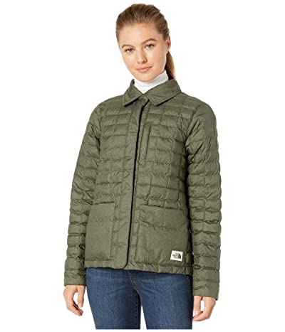 The North Face ThermoBalltm Eco Snap Jacket (New Taupe Green Heather/British Khaki) Women