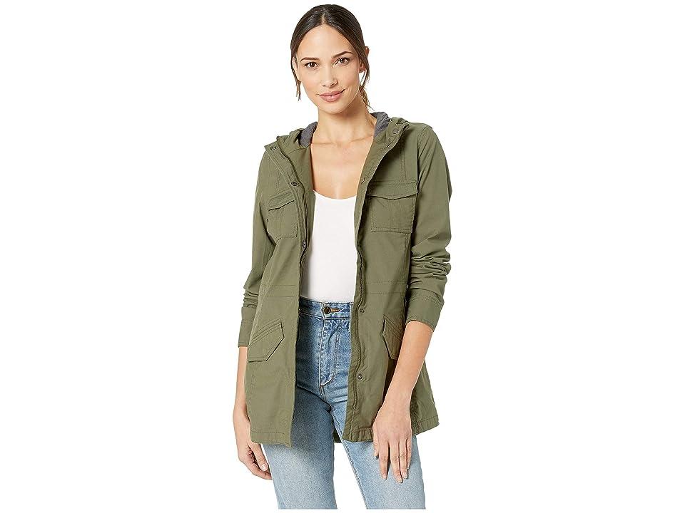 Prana Mandel Jacket (Cargo Green) Women