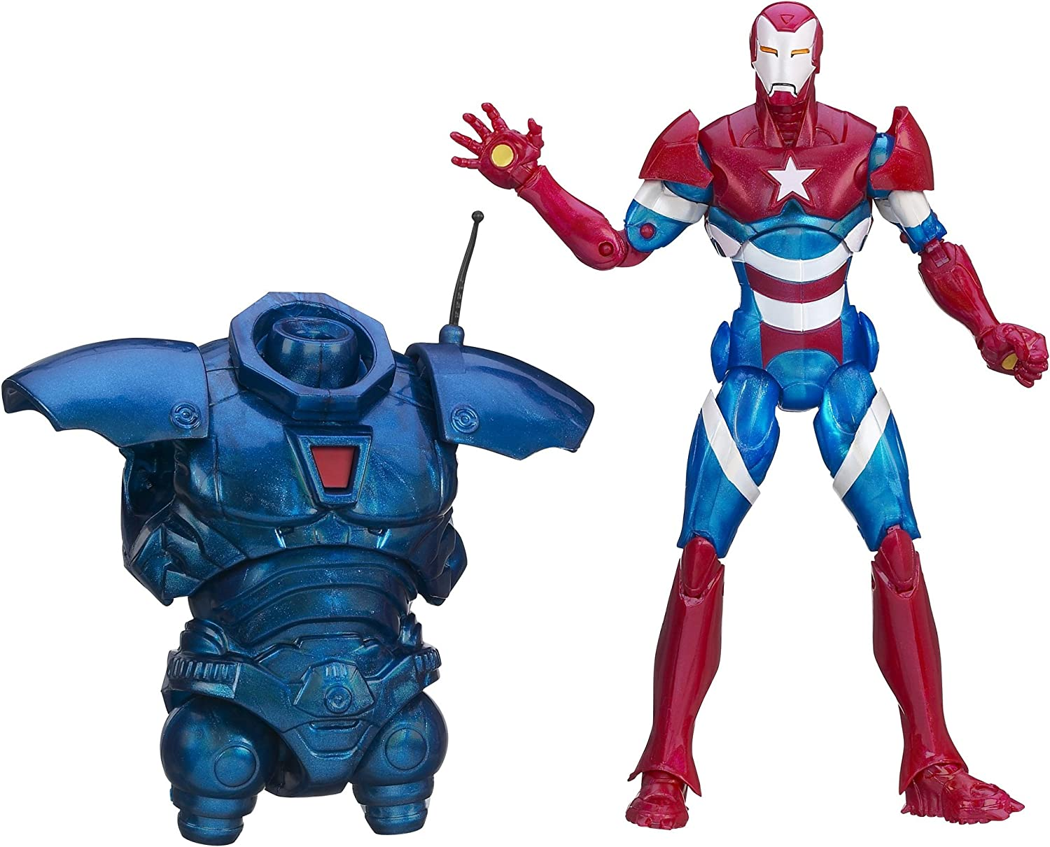 Marvel Legends Iron Man 3 - Iron Patriot [UK Import]