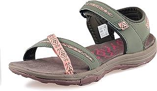 Sandalias Mujer Verano Planas Trekking Confort Secado rápido Ajustable Correas Puntera Abierta Damas Excursionismo Deportivas Zapatos