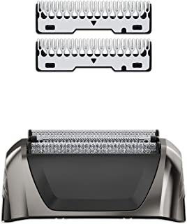 Wahl Black Chrome Smart Shave Replacement Foils, Cutters and Head for 7061 Series, #7045-700
