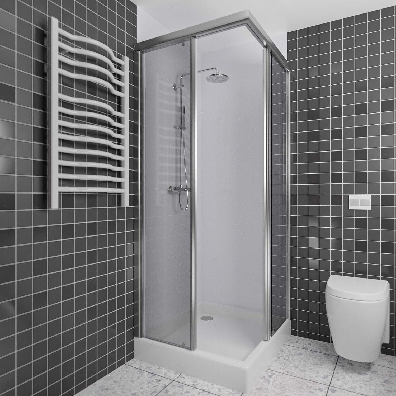 Endlich wieder wohlfühlen im Bad, Duschrückwand von Wallando ...