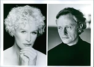 Vintage photo of Portrait of Niels Arestrup and Glenn Close in the film Meeting Venus, 1991.