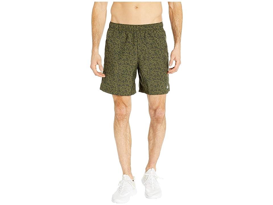 Nike Challenger Shorts Bf 7 Pr (Sequoia/Olive Canvas/Olive Canvas) Men