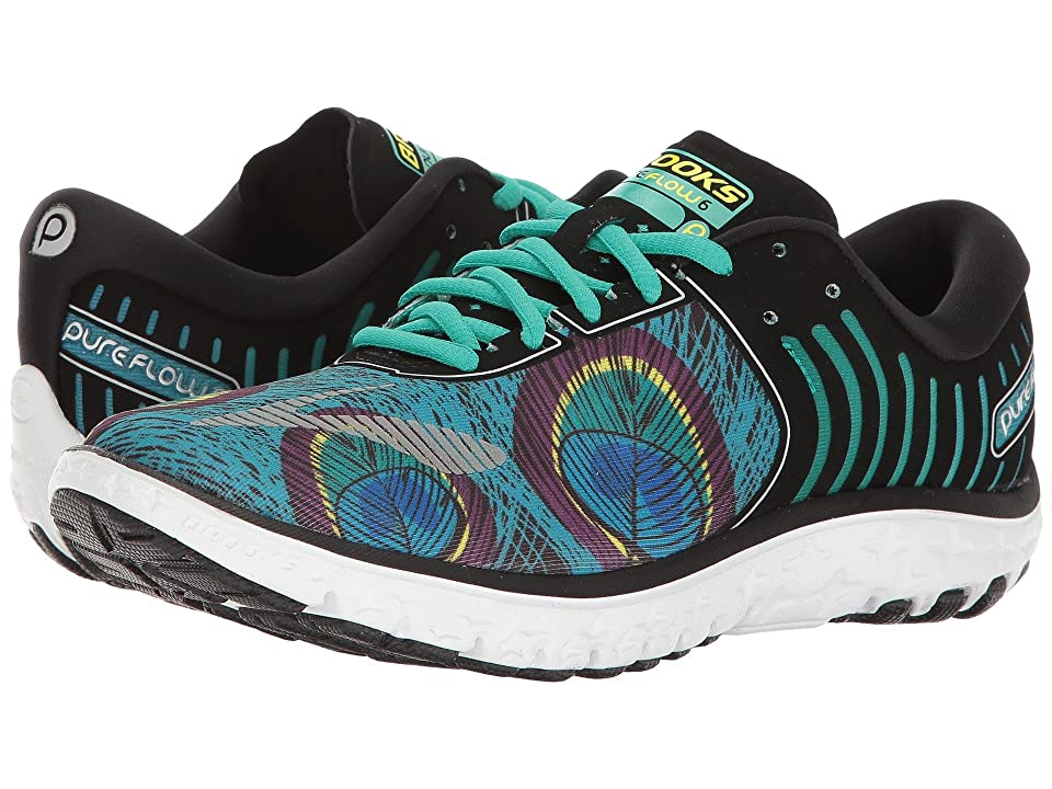 Brooks PureFlow 6 (Peacock/Peacock Green/Black) Women