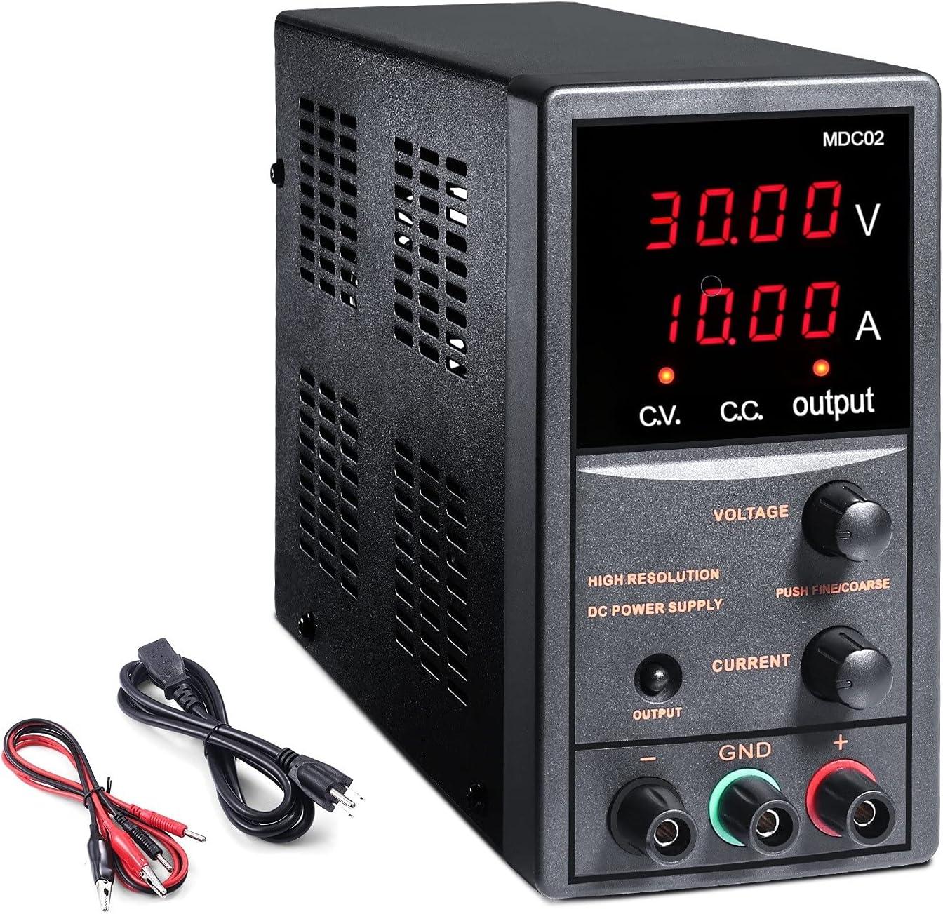 Ttkk   10A 30V DC Power Supply Variable $49.97 Coupon