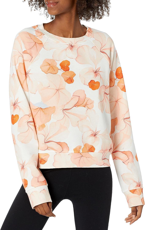 PAIGE Women's Daytona Floral Print Cozy Sweatshirt