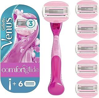 comprar comparacion Gillette Venus ComfortGlide Spa Breeze Maquinilla de Afeitar Mujer + 5 Cuchillas de Recambio