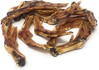 Jack's Premium Duck Feet Dental Dog Treat All Natural Chew Fully Digestible Made in The USA