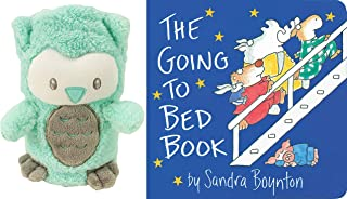 Merakkii My PET Blankie - Teal OWL - Owl Gifts, Children Blanket - The Going-to-Bed Book Board Book by Sandra Boynton (Author).
