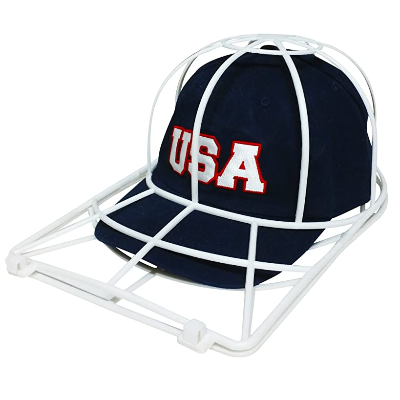 Baseball Cap Washer Great Hat Cleaner and Ball Cap Hat Washer. Clean Your Entire Collection From Your Cap Organizer, Hat Rack or Cap Holder Easily Cleans in Your Dishwasher or Washing Machine.