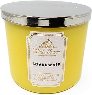 White Barn Bath & Body Works Summer Boardwalk Scented Candle 3 Wick