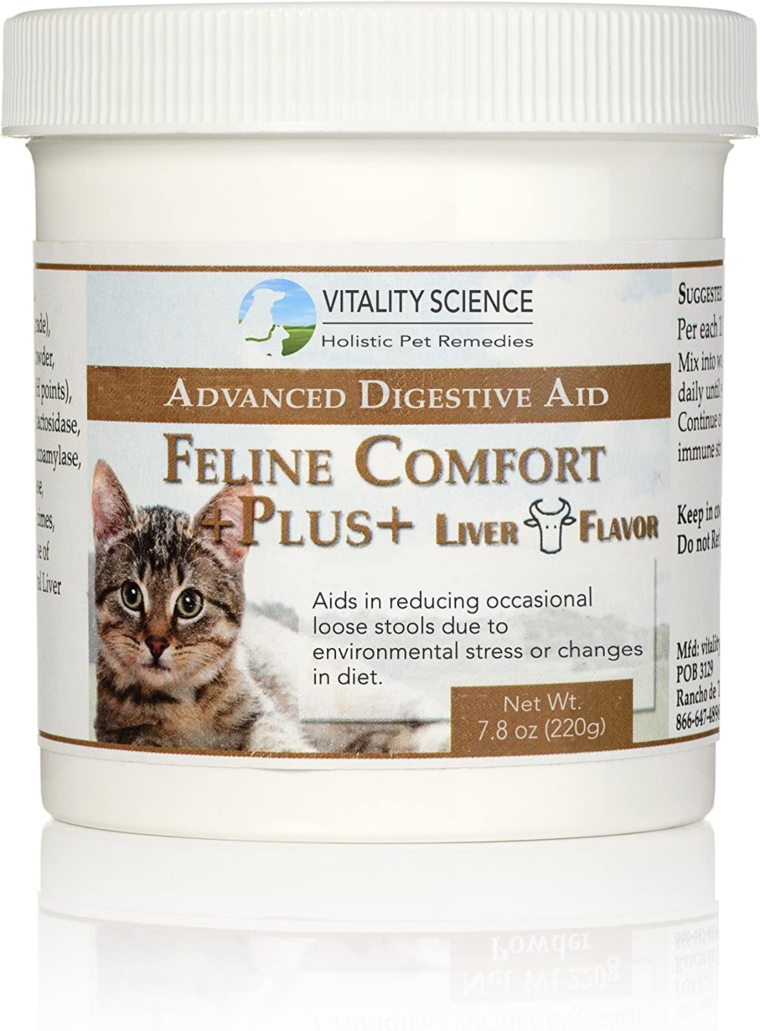 Feline Comfort Plus   Extra Digestive Aid for Cats (Liver, 220g)