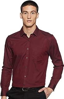 Max Men's Plain Slim Fit Formal Shirt