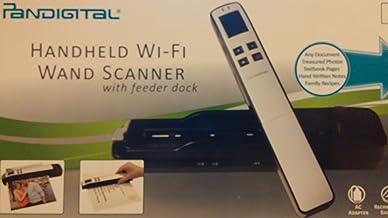$69 » Pandigital Handheld Wi-Fi Wand Scanner with Feeder Dock - S8X1103PU - Purple