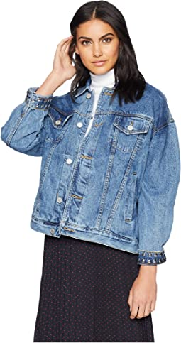 Denim Trucker Jacket in Rebel Without A Cause