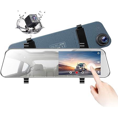 Toguard Spiegel Dashcam 12 7 Cm Lcd Rückfahrkamera Elektronik