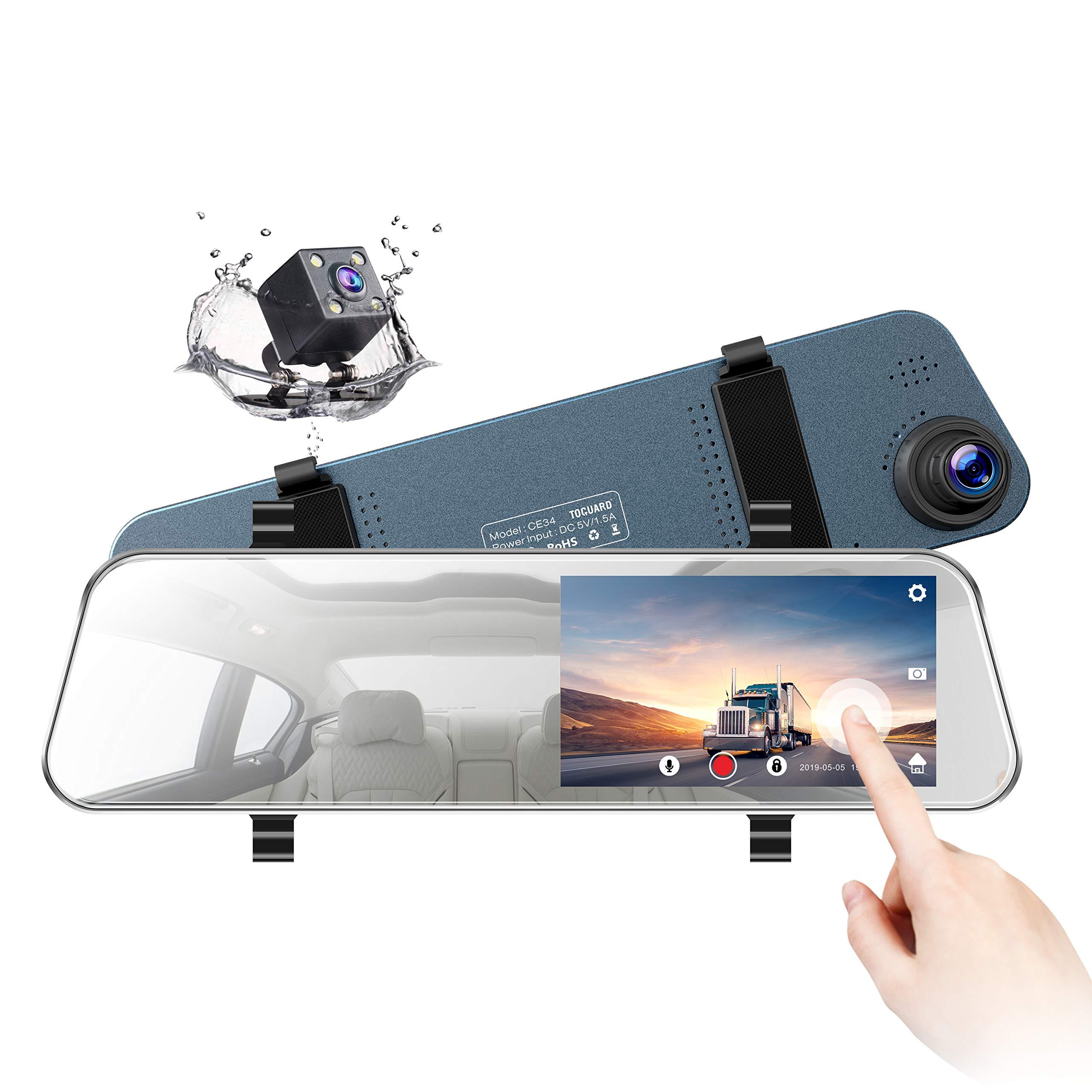 TOGUARD Backup Camera Ultra Thin Waterproof