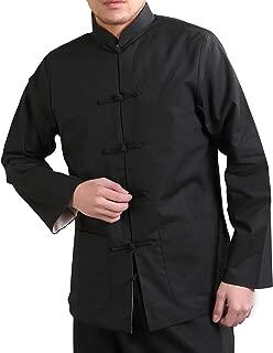 Men's Linen-Blend Reversible Chinese Jacket