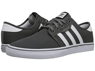 adidas Skateboarding Seeley (Ash/White/Black) Men