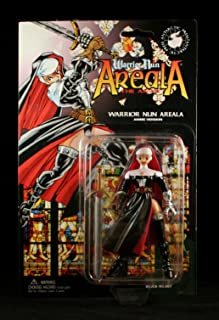 WARRIOR NUN AREALA * ANIME VERSION * 5 Inch Action Figure Accessories from Ben Dunns Warrior Nun Areala Comic Series