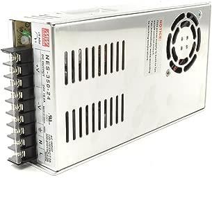 Mean Well NES-350-24 Fuente de alimentación conmutada UL de 24 V y 350 vatios 120 voltios