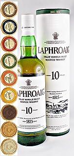 Laphroaig 10 Jahre Islay Single Malt Whisky  9 Edel Schokoladen in 9 Sorten