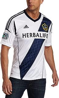 adidas Los Angeles Galaxy White Replica Home Jersey