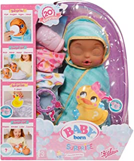 Babyborn Bathtub Surprise Doll, Multi-Colour, 28 cm, 904114