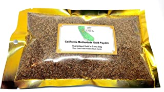 mikesgoldPaydirt 1 lb. Gold Panning Paydirt California Motherlode Black Sands,Flour Gold,Fines,Pickers