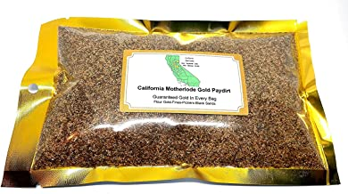 mikesgoldpaydirt Gold Paydirt California Clunker Nugget Pay Dirt Bag from California Motherlode