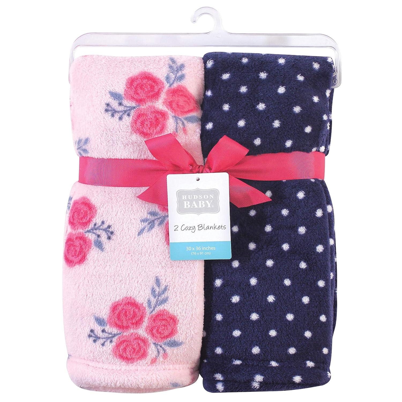 50X60 in. Buffalo Plaid Fleece Hudson Baby Home Silky Plush Blanket Throw