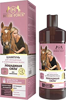 Shampoo for color and stressed hair, Horse Force, 500ml