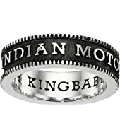 King Baby Studio - Indian Motorcycle Logo Coin Edge Band