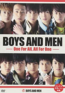 BOYS AND MEN ~One For All, All For One~ [DVD]