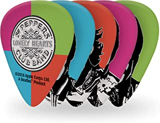 D'Addario Signature 1CWH6-10B6 Picks Heavy 10 Pack Beatles Sgt Peppers Lonely Hearts Club Band 50th Anniversary (Faces)