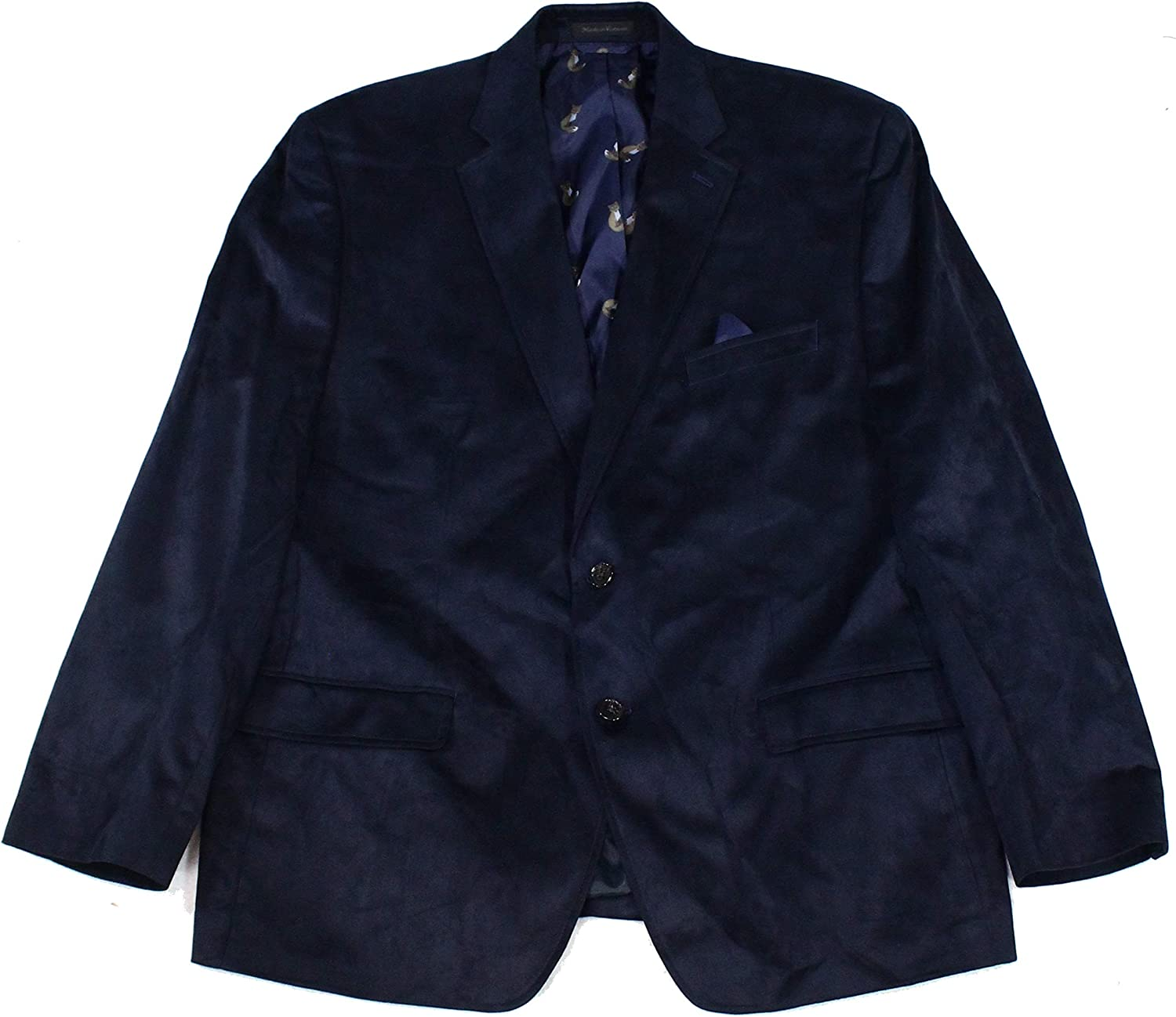 Lauren Free Shipping New Ralph Mens Big Ranking TOP2 Tall Blazer Faux Suede Two-Button
