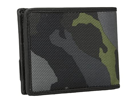Tumi billetera Alpha verde Camuflaje doble rUwrXRq
